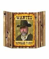 Grote wanted foto bord 94 x 63 cm trend