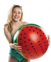 Grote watermeloen strandbal 51 cm trend