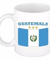 Guatemala vlag theebeker 300 ml trend
