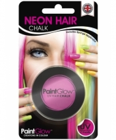 Haarkrijtjes uv roze trend