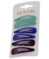 Haarspeldjes 6 cm kleuren mix 1 trend