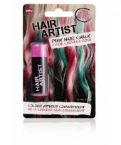 Haarverf in de kleur roze trend