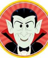 Halloween 10x halloween onderzetters vampier dracula trend