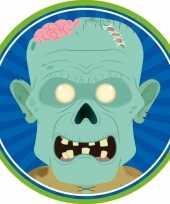 Halloween 10x halloween onderzetters zombie trend