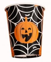 Halloween 10x halloween pompoen bekers trend