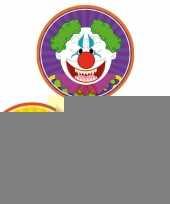 Halloween 30x halloween onderzetters duivel heks horror clown trend