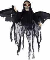 Halloween bewegende skelet pop zwart met licht en geluid trend