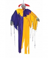 Halloween clown decoratie 170 cm trend