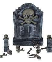 Halloween decoratie kerkhof set 12 delig trend