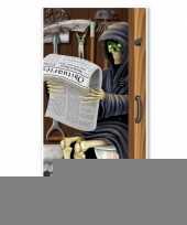 Halloween deurposter magere hein toilet trend