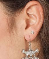Halloween doodshoofd oorbellen trend