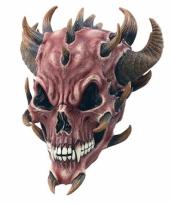 Halloween duivel masker trend
