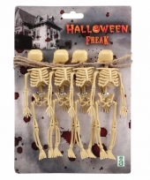Halloween feestslinger skelet trend