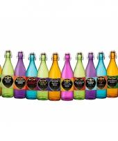 Halloween flessen met etiket trend