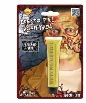 Halloween gebarsten huid schmink geel 28 3 gram trend