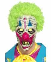 Halloween glow in the dark clowns masker trend
