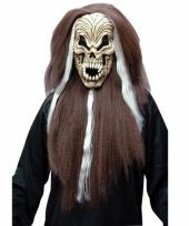 Halloween griezel schedel masker trend