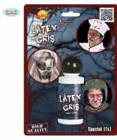 Halloween grijze latex schmink 28 ml trend