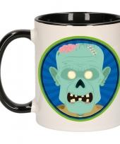 Halloween halloween zombie mok beker 300 ml trend