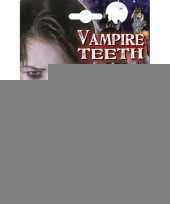 Halloween kinder gebit vampier trend