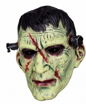 Halloween latex horror masker frankenstein trend