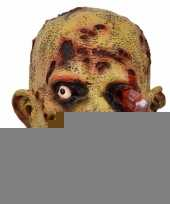 Halloween latex horror masker zombie bloedend oog trend