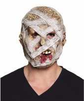 Halloween latex mummie masker voor volwassenen trend