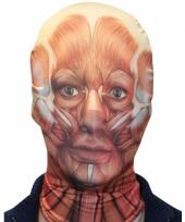 Halloween masker gevild gezicht trend
