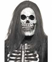 Halloween masker skelet hoofd trend