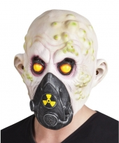 Halloween nucleair slachtoffer halloween masker van latex trend