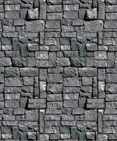 Halloween scenesetter stenen muur trend