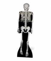 Halloween skelet versiering bord trend