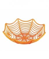 Halloween snoepjes schaal oranje trend