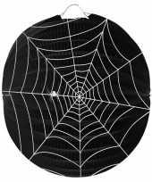 Halloween spinnenweb lampion 22 cm trend