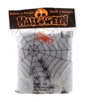 Halloween spinnenweb met spinnen trend