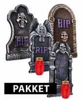 Halloween thema decoratie pakket trend