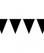 Halloween vlaggenlijn zwart 10 m trend 10117471
