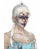 Halloween zombie froze to death damespruik trend
