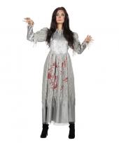 Halloween zombie halloween bruidsjurk voor dames trend