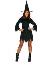 Halloween zwart heksen kostuum budget voor dames trend