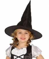 Halloween zwarte heksenhoed beryl voor meisjes trend