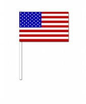 Handvlag amerika 12 x 24 cm trend
