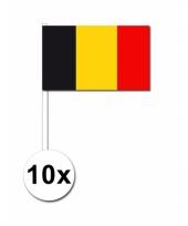 Handvlag belgie set van 10 trend