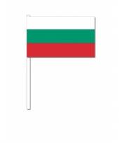 Handvlag bulgarije 12 x 24 cm trend