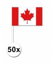 Handvlag canada set van 50 trend