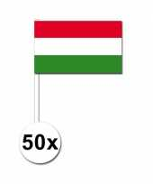Handvlag hongarije set van 50 trend