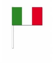 Handvlag italie 12 x 24 cm trend