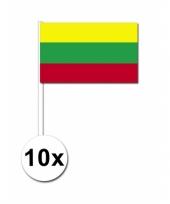 Handvlag litouwen set van 10 trend
