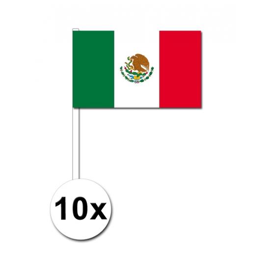 Handvlag mexico voordeelset van 10 trend