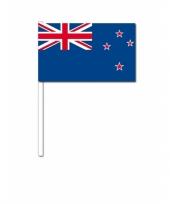 Handvlag nieuw zeeland 12 x 24 cm trend
